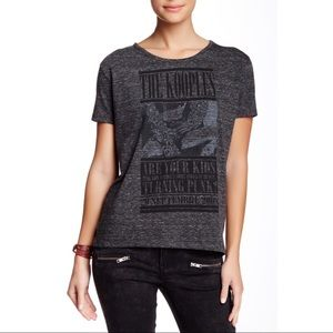 The Kooples Kids Turning Pink Tee Gray